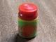 Part No: 33011cpb10  Name: Scala Accessories Jar Jam / Jelly, Label with Orange and Orange Slices Pattern (Sticker) - Set 3149