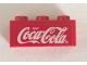 Part No: 3622pb119  Name: Brick 1 x 3 with White Coca-Cola Logo on Red Background Pattern (Sticker) - Set 4465