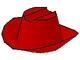 Part No: 3629  Name: Minifigure, Headgear Hat, Cowboy