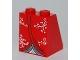 Part No: 3678bpb025  Name: Slope 65 2 x 2 x 2 with Bottom Tube with Kimono Pattern