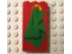 Part No: 3755pb05  Name: Brick 1 x 3 x 5 with Towel Pattern (Sticker) - Set 230-1