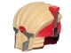 Part No: 37629pb01  Name: Minifigure, Headgear Helmet SW Weazel Pattern