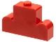 Part No: 4088  Name: Brick, Modified 1 x 4 x 2 Center Stud Top