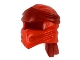 Part No: 40925pb05  Name: Minifigure, Headgear Ninjago Wrap Type 4 with Dark Red Headband Pattern