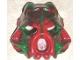 Part No: 43853posc  Name: Bionicle Mask Hau Nuva Poisoned - Green Stripe on Forehead