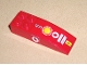 Part No: 44126pb001  Name: Slope, Curved 6 x 2 with Number 1 and Shell Logo on Top, Vodafone Logo on Both Sides Pattern (Stickers)