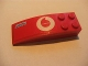 Part No: 44126pb015R  Name: Slope, Curved 6 x 2 with Vodafone and Fiat Logo Pattern Right (Sticker) - Set 8362