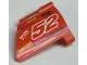 Part No: 44352pb09  Name: Technic, Panel Fairing #22 Large Short, Small Hole, Side A with Number 52 and Sponsor Logos Pattern (Sticker) - Set 8167