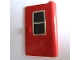 Part No: 446pb01  Name: Door 1 x 3 x 4 Right with Black Window Pattern (Sticker) - Set 164