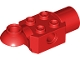 Part No: 47452  Name: Technic, Brick Modified 2 x 2 with Pin Hole, Rotation Joint Ball Half (Horizontal Top), Rotation Joint Socket