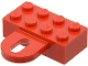 Part No: 4748  Name: Brick, Modified 2 x 4 with Coupling, Female