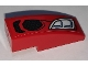 Part No: 50950pb131L  Name: Slope, Curved 3 x 1 with Grille and Headlight Pattern Model Left Side (Sticker) - Set 76151