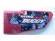 Part No: 64391pb001  Name: Technic, Panel Fairing # 4 Small Smooth Long, Side B with 'NITRO BUGGY' Pattern (Sticker) - Set 8048