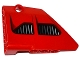 Part No: 64394pb001  Name: Technic, Panel Fairing #13 Large Short Smooth, Side A with 2 Air Intakes Pattern (Sticker) - Set 8070