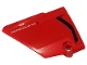 Part No: 64394pb028  Name: Technic, Panel Fairing #13 Large Short Smooth, Side A with 'PANIGALE V4R' and Black Air Intake Pattern (Sticker) - Set 42107
