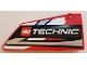 Part No: 64682pb025  Name: Technic, Panel Fairing #18 Large Smooth, Side B with LEGO TECHNIC Logo Pattern (Sticker) - Set 42000