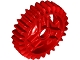 Part No: 65413  Name: Technic, Gear 28 Tooth Double Bevel with Pin Hole