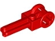 Part No: 6553  Name: Technic, Axle 2 with Reverser Handle Axle Connector