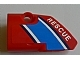 Part No: 87080pb004  Name: Technic, Panel Fairing # 1 Small Smooth Short, Side A with 'RESCUE' Pattern (Sticker) - Set 8068