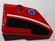Part No: 87080pb013  Name: Technic, Panel Fairing # 1 Small Smooth Short, Side A with EMT Star of Life Pattern (Sticker) - Set 8068