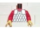 Part No: 973p41c03  Name: Torso Castle Scale Mail Pattern / Red Arms / Yellow Hands