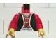 Part No: 973pn1c02  Name: Torso Castle Ninja Samurai Robe, Sash and Dagger Pattern (Shogun) / Red Arms / Yellow Hands