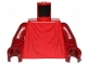 Part No: 973px70c03  Name: Torso SW Imperial Robe with Dark Red Creases Pattern (Royal Guard) / Dark Red Arms / Dark Red Hands