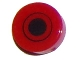 Part No: 98138pb043  Name: Tile, Round 1 x 1 with Black Dot and Circle Pattern