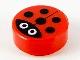 Part No: 98138pb177  Name: Tile, Round 1 x 1 with Ladybug Pattern