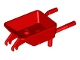 Part No: 98288  Name: Minifigure, Utensil Wheelbarrow Frame