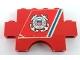 Part No: BA039pb02  Name: Stickered Assembly 6 x 1 x 3 with 'UNITED STATES COAST GUARD 1790' Pattern (Sticker) - Set 575-1 - 1 Brick 1 x 4, 1 Brick 1 x 6, 1 Brick Arch 1 x 4