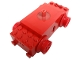 Part No: bb0012vb  Name: Electric, Train Motor 12V Modern Type II with 3 Round Contact Holes