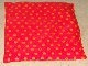 Part No: bb0244pb02  Name: Duplo, Doll Cloth Pillow with Yellow Dots Pattern