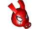 Part No: bb1146pb01  Name: Minifigure, Head Modified Alien Pig with Spider-Man Black Web and Large White Eyes Pattern
