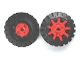 Part No: g9c01  Name: Wheel & Tire Assembly Technic, Gear Expert Builder 9 Tooth with Black Tire 17 x 43 (g9/3634b)