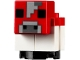 Part No: minecow04  Name: Minecraft Cow, Mooshroom, Baby