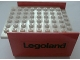 Part No: x146c02pb03  Name: Boat, Hull Smooth Middle 8 x 6 x 3 1/3, Deck Color White with 'Legoland' Pattern on Both Sides (Stickers) - Sets 310-3 / 312-3