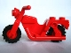 Part No: x81c01  Name: Motorcycle Town with Red Wheels