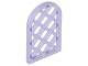 Part No: 30046  Name: Window 1 x 2 x 2 2/3 Pane Lattice Diamond with Rounded Top