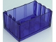 Part No: 4237  Name: Container, Trunk Bottom 4 x 6 x 2 1/3