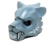 Part No: 15083pb05  Name: Minifigure, Headgear Mask Tiger with White Fangs and Fur Pattern
