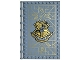 Part No: 69934pb001  Name: Tile, Modified 10 x 16 with Studs on Edges and Bar Handles with Hogwarts Charms Class Pattern