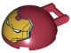 Part No: 18990pb01  Name: Windscreen 4 x 4 x 1 2/3 Canopy Half Sphere with Handle and Hulk Buster Face Pattern (2015 Version)