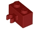 Part No: 30237b  Name: Brick, Modified 1 x 2 with Open O Clip Thick (Vertical Grip)