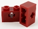 Part No: 32064c  Name: Technic, Brick 1 x 2 with Axle Hole (+ Shape) and Inside Side Supports