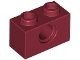 Part No: 3700  Name: Technic, Brick 1 x 2 with Hole