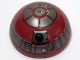 Part No: 86500pb01  Name: Cylinder Hemisphere 4 x 4 with R4-P17 Astromech Droid Pattern