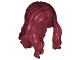 Part No: 95225  Name: Minifigure, Hair Long Wavy with Center Part