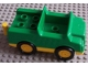 Part No: 2218ac01  Name: Duplo Car with 2 x 2 Studs in Bed, 1 Stud in Cab and Yellow Base