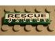Part No: 2431pb035  Name: Tile 1 x 4 with 'RESCUE patrol' Pattern (Sticker) - Set 8255
